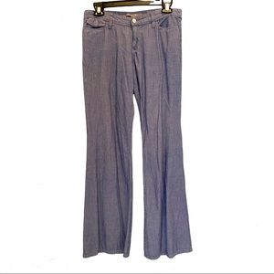JOE'S JEANS 27 Relaxed Fit Chambray Denim Jeans